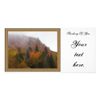 Thinking Of You. Customized Photo Card