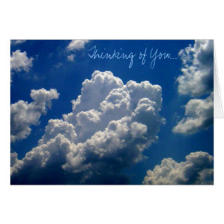 'Thinking of You' photo notecard Note Card