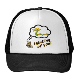 Thinking of You Snake Mesh Hats