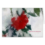 Thinking of you this Holiday Season by A. Celeste Greeting Card