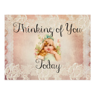 Thinking of You Today Post Card
