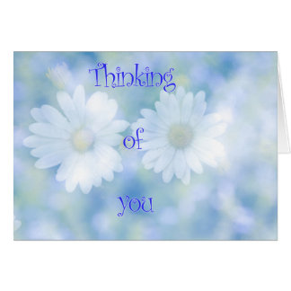 Thinking of you with love. card