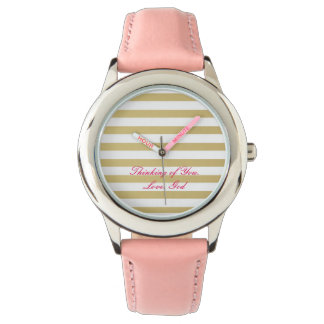 Thinking of You Wrist Watches