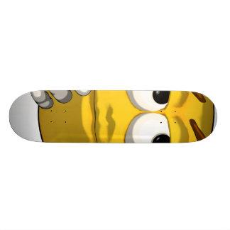 Thinking-toon-black Skateboard Deck