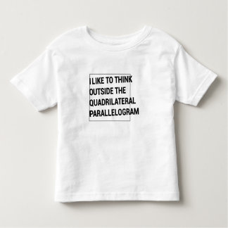 Thinking Way Outside the Box. Toddler T-Shirt