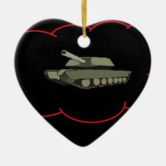 Thinktank Ceramic Heart Decoration