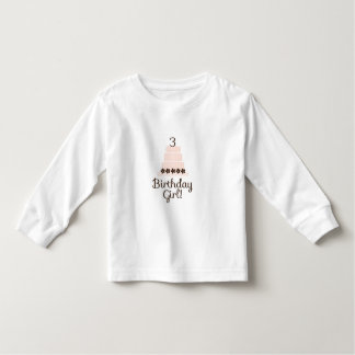 Third Birthday Girl T-Shirt