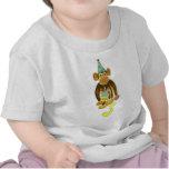 Third Birthday Monkey Tee Shirt