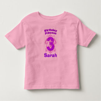 Third Birthday Princess Shirt