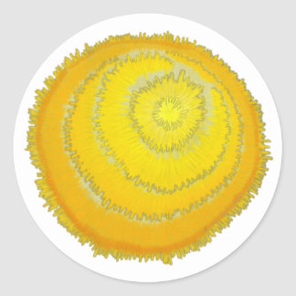 Third Chakra Healing Art #2 Stickers