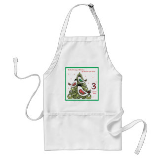 Third Day of Christmas Standard Apron