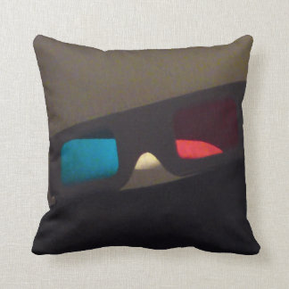 Third Dimension Throw Pillow