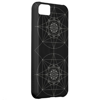 Third Dimensional Sacred Geometry iPhone 5C Case