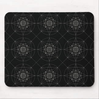 Third Dimensional Sacred Geometry Mouse Pad