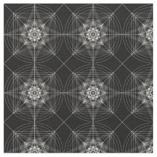 Third Dimensional Sacred Geometry (tripled) Fabric
