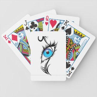 Third Eye Bicycle Playing Cards