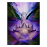 Third Eye Chakra Goddess Fine Art Poster/Print