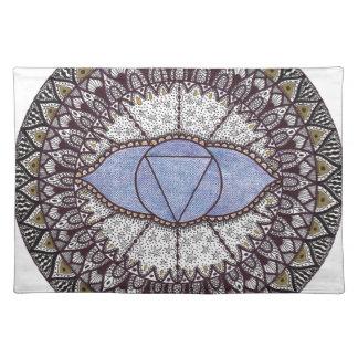 Third Eye Chakra Mandala Placemat