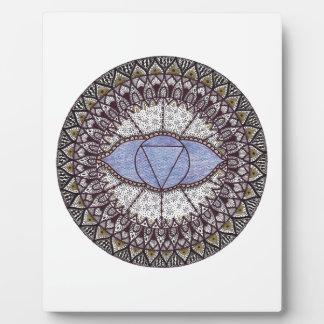Third Eye Chakra Mandala Plaque