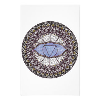 Third Eye Chakra Mandala Stationery