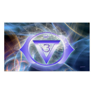 Third Eye Chakra Pack Of Standard Business Cards
