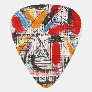 Third Eye-Hand Painted Abstract Art Plectrum