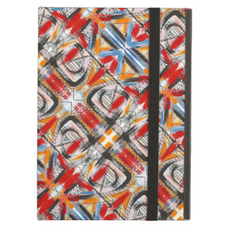 Third Eye-Hand Painted Abstract Brushstrokes iPad Air Cover