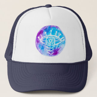 Third Eye Snapback By Megaflora Trucker Hat