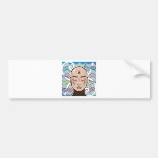 Third Eye vector Illustration Bumper Sticker