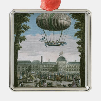 Third Flight of Nicholas Robert  and his Silver-Colored Square Decoration