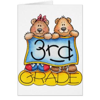 Third Grade Greeting Card