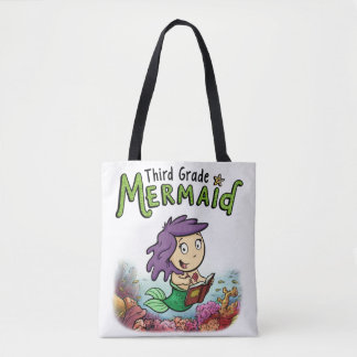 Third Grade Mermaid Tote Bag