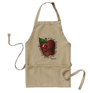 Third Grade Personalize | School Standard Apron