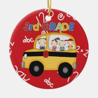Third Grade Teacher Christmas Ornament