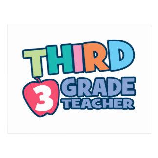 Third Grade Teacher Post Card