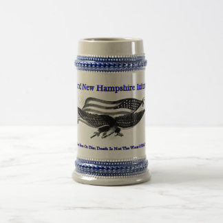 Third new Hampshire Infantry Beer Stein Beer Steins