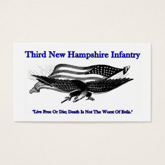 Third New Hampshire Infantry Business Cards