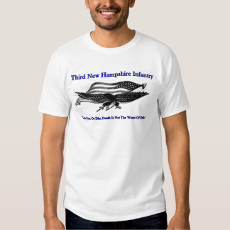 Third New Hampshire Infantry T-shirt