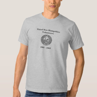 Third New Hampshire Volunteers Seal T Shirt