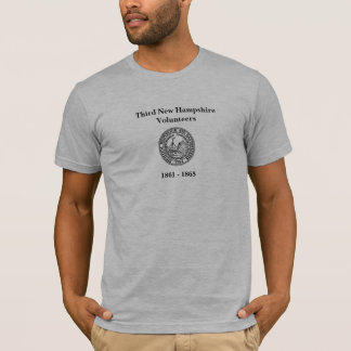 Third New Hampshire Volunteers Seal T-Shirt