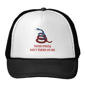 Third Party - Don t Tread On Me Trucker Hat