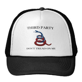 Third Party - Don't Tread On Me Mesh Hat