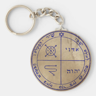 Third Pentacle of Jupiter Key Ring