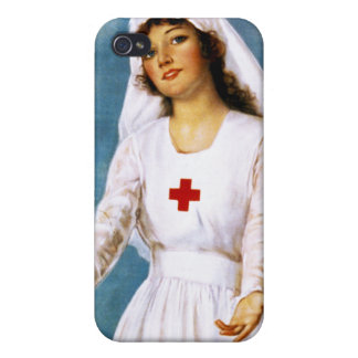 Third Red Cross Roll Call, 1918 iPhone 4 Cases
