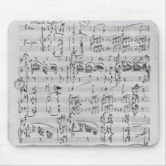 Third Sonata for piano and violin Mouse Mat