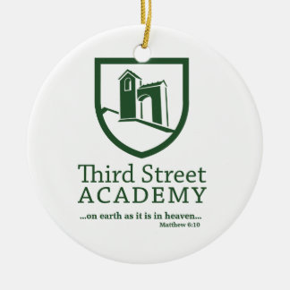 Third Street Academy Matthew 6:10 Christmas Ornament