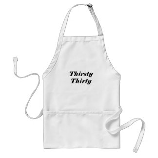Thirsty Thirty Aprons