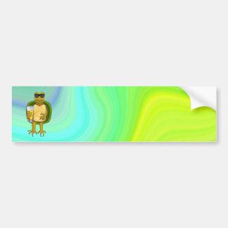 Thirsty Turtle Bumper Sticker