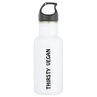 'THIRSTY VEGAN' 532 ML WATER BOTTLE