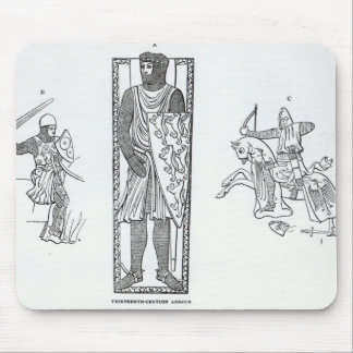 Thirteenth-century armour mouse mat